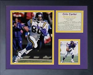 "Legends Never Die ""Cris Carter"" Framed Photo Collage, 11 x 14-Inch"