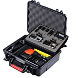 Smatree SmaCase GA500 Floaty/Water-Resist Hard Case for Gopro Hero 7,6,5,4, 3+, 3, 2, 1,GOPRO HERO (2018)(Camera and Accessories NOT included)