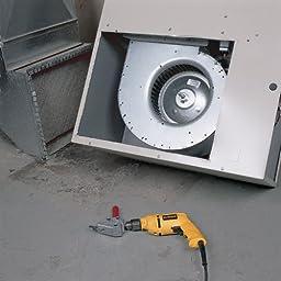 Malco TS1 Turbo Shear 20 Gauge Capacity Sheet Metal Cutting Attachment for 3/8-Inch Drills
