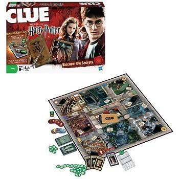 Amazon.com: Winning Moves Games Harry Potter Cluedo Mystery ...
