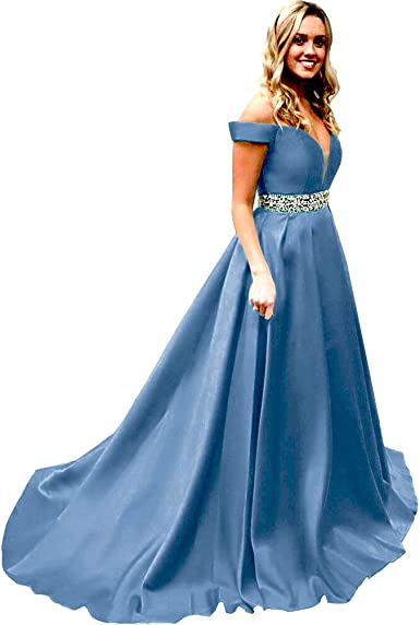 Amazon.com: Homdor Long Prom Dresses