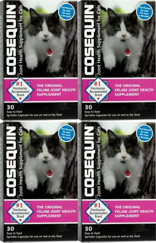 Nutramax Cosequin Sprinkle Capsules for Cats 120ct (4 x 30ct)