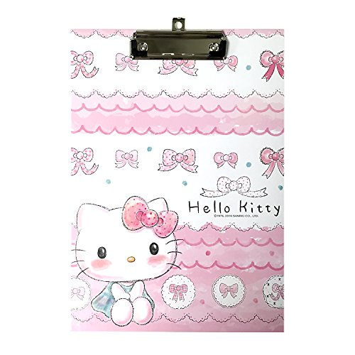 Sanrio Hello Kitty Hard Board Clip Board School Office (PINK(SKETCH))