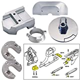 Tecnoseal Anode Kit w/Hardware - Mercury Alpha 1 Gen 2 - Aluminum by Tecnoseal
