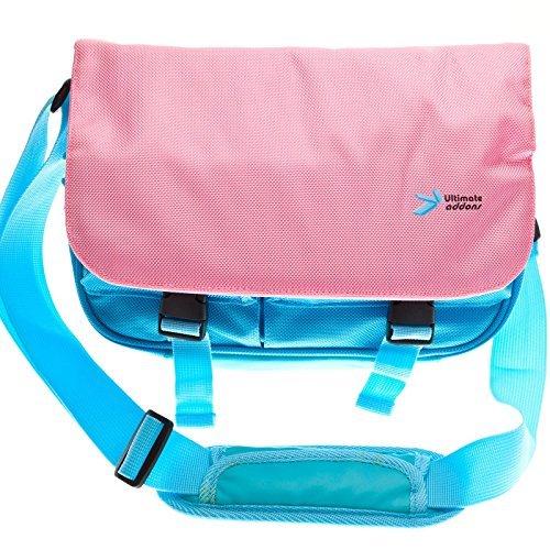 UltimateAddons Sac Messager Plusieurs Couleurs Pour Tablette Leapfrog LeapPad  Enfants Rose