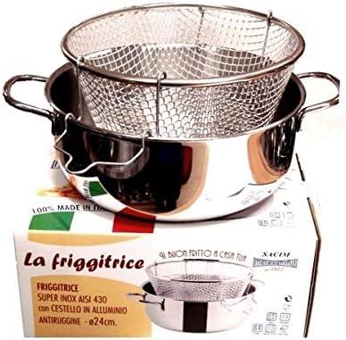 Viscio Trading - 165878 - Freidora inoxidable con cesta de ...