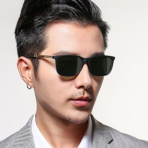 Glasses Hipster Light A Polarized Gafas sol Color Driver Drive Drive Retro NAN de Car A q7waAZTR