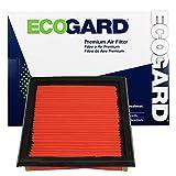 2007 g35 air filter - ECOGARD XA5824 Premium Engine Air Filter Fits Infiniti G37, G35 / Nissan 370Z / Infiniti EX35 / Nissan 350Z / Infiniti QX50, G25, Q60, Q40, EX37 1 filter per box, needs 2 filters per application