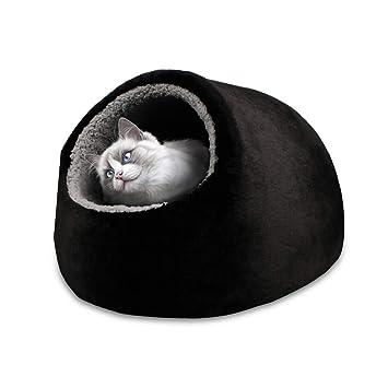 Vertast - Caseta con cojín lavable para gatos y perros pequeños: Amazon.es: Productos para mascotas