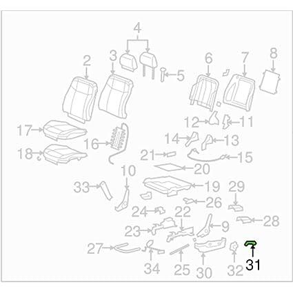 Amazon Com Possbay Left Seat Back Recliner Adjustment Handle For