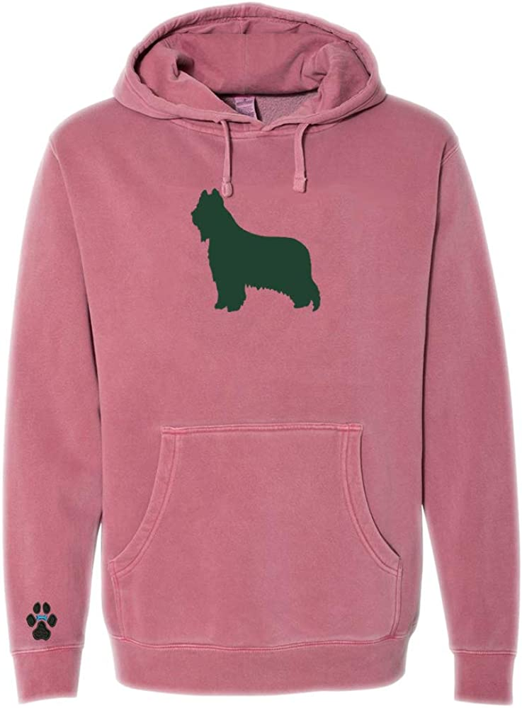 Heavyweight Pigment-Dyed Hooded Sweatshirt with Briard Silhouette