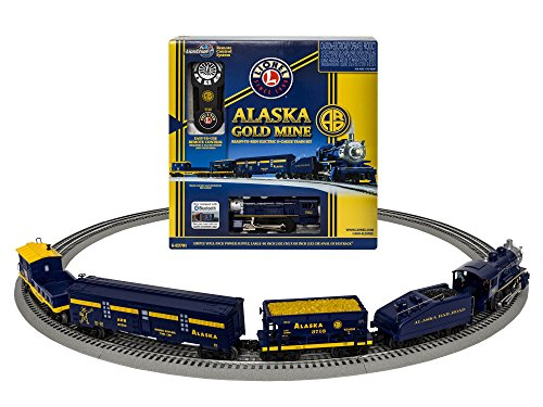 - Lionel Alaska Gold Mine Steam Set with Bluetooth Train Set