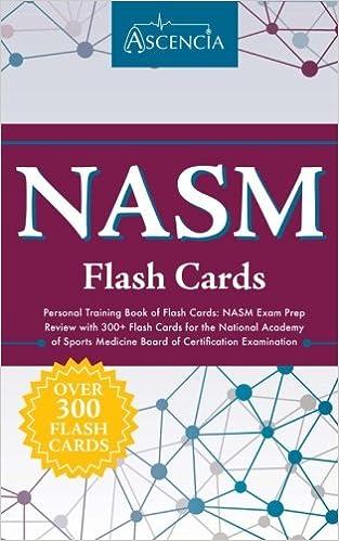 Amazon.com: NASM Personal Training Book of Flash Cards: NASM Exam ...