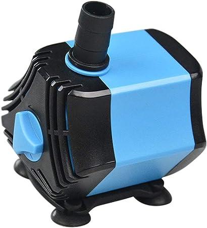S$S Pequeñas Bombas sumergibles - Ciclo de filtración del Acuario Hexagonal, jardín Bomba de la Fuente Estanque súper Bomba Sumergible,60w: Amazon.es: Hogar