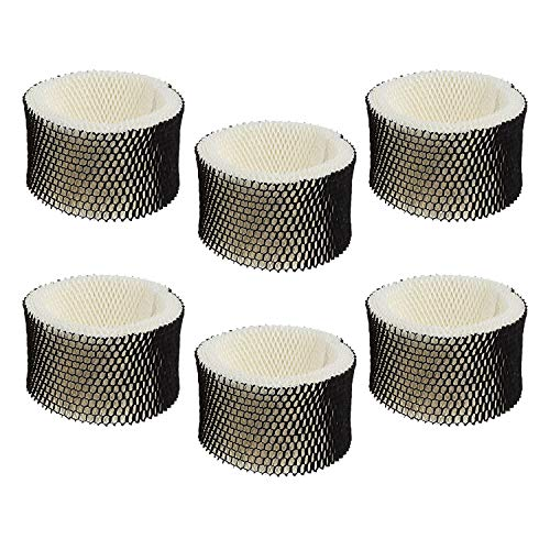 IOYIJOI Humidifier Filter for Holmes A HWF62 HWF62CS Replacement Air Filters for Sunbeam Humidifier FilterSCM1100, SCM1701, SCM1702, SCM1762, SCM2409 (6 Pack)