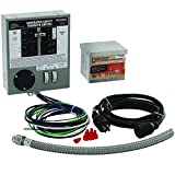 Generac 6408 30-Amp 6-10-Circuit Indoor Manual Transfer Switch Kit for Maximum 7500-Watt Generators