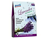 BlueOxy - 3 Units Pack Moth Repellent Wardrobe Freshener Sachets with Lavender Fragrance : Pack of 1 Box containing 3 units : Lasts 120 days
