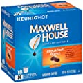 Maxwell House Breakfast Blend Keurig K Cup Coffee Pods (72 Count, 4 Boxes of 18) from KraftHeinz