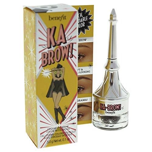 Benefit Ka Brow Cream Gel Color with Brush, 5 (Deep), 0.1 Ounce ()