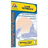 Vermilion Fishing Map, Lake