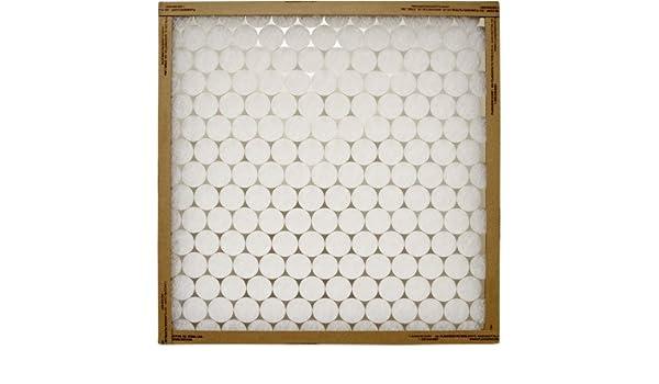 "Precisionaire Furnace Air Filter 20 /"" X 22-1//4 /"" X 1 /"" Fiberglass Pack of 12"