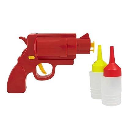 BESTONZON - 3 Botellas de plástico para apretar Botellas translúcidas para Ketchup Mustard Mayo apósitos,
