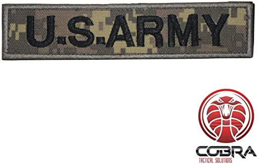 Cobra Tactical Solutions US Army Digital Woodland Camo Parche ...