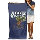 """Texas A&M Aggies Star Wars Yoda 31.5""""*51"""" Beach Towel"""