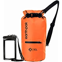 Earth Pak- Waterproof Dry Bag with Front Zippered Pocket...