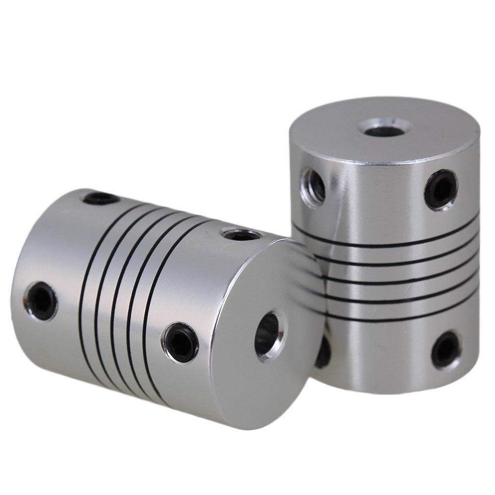1Pc 3/4/5/6/7/8/10mm in alluminio accoppiamento albero flessibile accoppiatore connettore del motore winwill 3D190