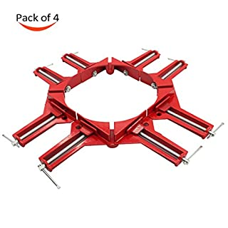 Wood corner clamp set do it yourselfore otrmax 90 degree right angle clamp quick grip corner clamp diy woodworking frame picture solutioingenieria Image collections