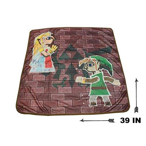 The Legend of Zelda: A Link Between Worlds 2D Mural Blanket