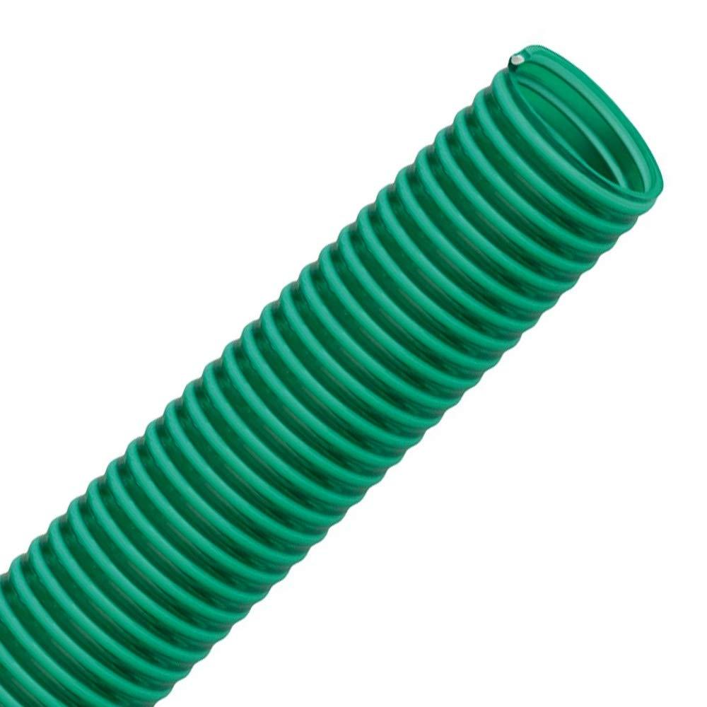 vert Longueur 20m Tuyau spirale en PVC comme tuyau daspiration et de refoulement transparent FLEXTUBE GR /Ø 25mm poids moyen 1 flexible