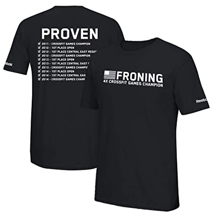 5439fb6a Amazon.com: Reebok Men's Rich Froning Jr. 4X Crossfit Games Champion ...