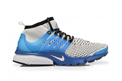 reputable site a7722 9ff6a Nike Mens - Air Presto Flyknit Ultra - Atlantic Blue White Black - UK 13