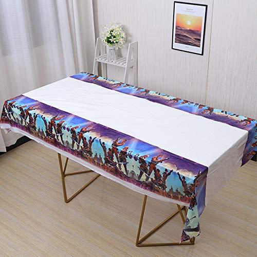 Battle Royale Plastic Tablecloth 86 x 51