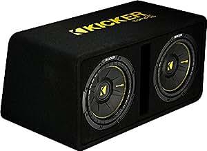 Amazon.com: Kicker Dual 10-Inch 1200 Watt 2 Ohm Vented