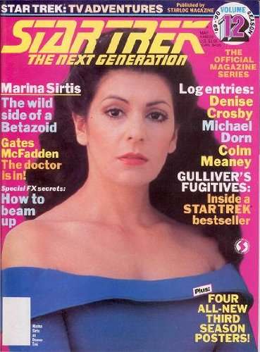 STAR TREK: The Next Generation Official Magazine Series #12 (May 1990)