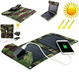 SaleOn 5W Portable And Foldable Solar Panel Charger For Mobile Phone and Tablet-255