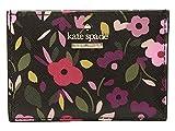 Kate Spade New York Women's Cameron Street Boho Floral Card Holder Black Multi