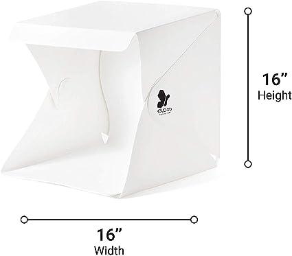 Portable Photo Studio Foldable LED 16