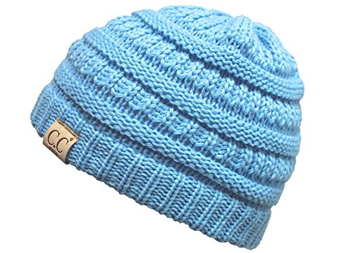 Funky Junque CC Kids Baby Toddler Ribbed Knit children's Winter Hat Beanie Cap – DiZiSports Store