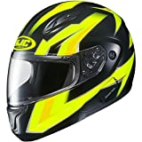 HJC CL-Max II BT Ridge Motorcycle Helmet - Hi-Vis - Medium