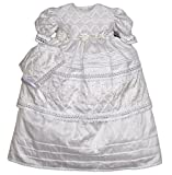 Baby-girls Heirloom Christening Baptism Gown Dress (Burbvus Ropones) Handmade - Silk