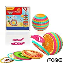 FOME Magnetic Cutting Sliced Fruit Ball with Knife Toys Set Children Kid Educational Learning Toy One Year Warranty