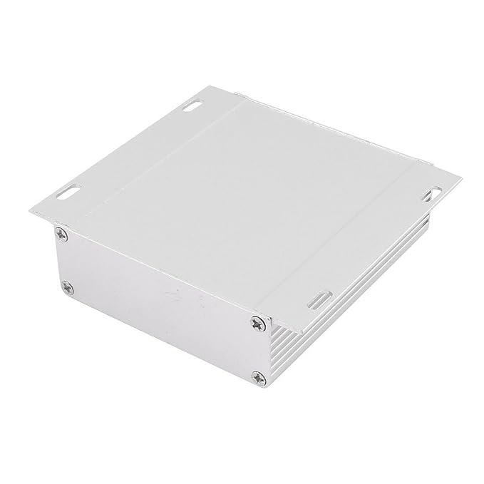 Amazon.com: eDealMax 104 x 97 x 28 mm Polivalente electrónica de aluminio extruido carcasa de la caja: Electronics