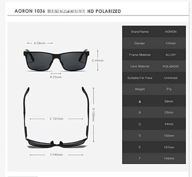 4a295c3af8 Fashion Men HD Polarized Sunglasses Aluminum Wrap Goggle Sport Driving  Eyewear UV400 (Black Black)