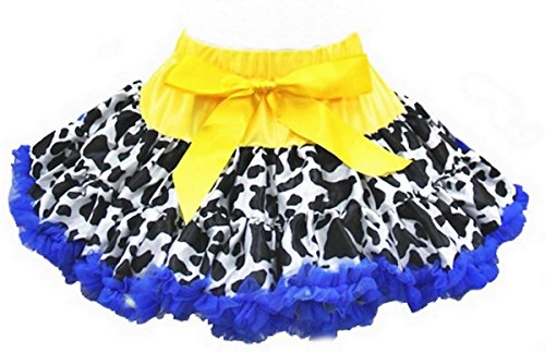 Cowgirl Tutu - Ameda Cowgirl Pettiskirt X-Small Royal Blue