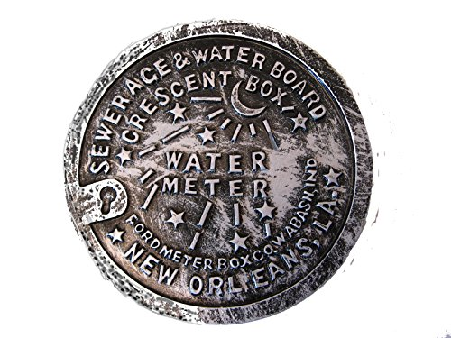 Water Meter MAGNET Refrigerator Sewerage and Water Board Magnet Souvenir decor decoration Fridge Freezer Theme party favor Travel gift French Quarter NOLA decor decorations keepsake with -