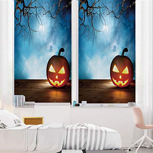 Halloween 3D No Glue Static Decorative Privacy Window